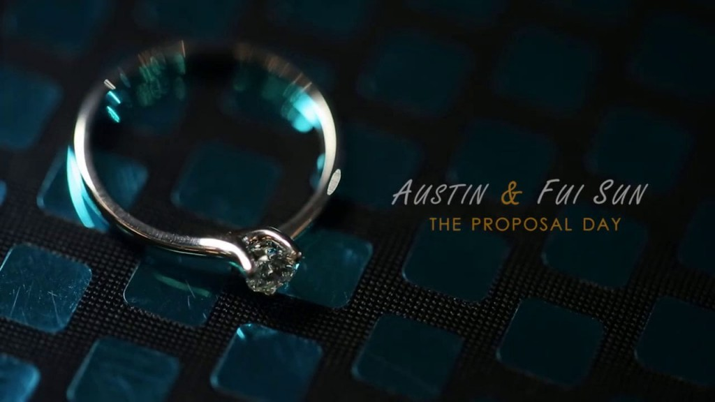 Austin & Fui Sun – The Proposal Day