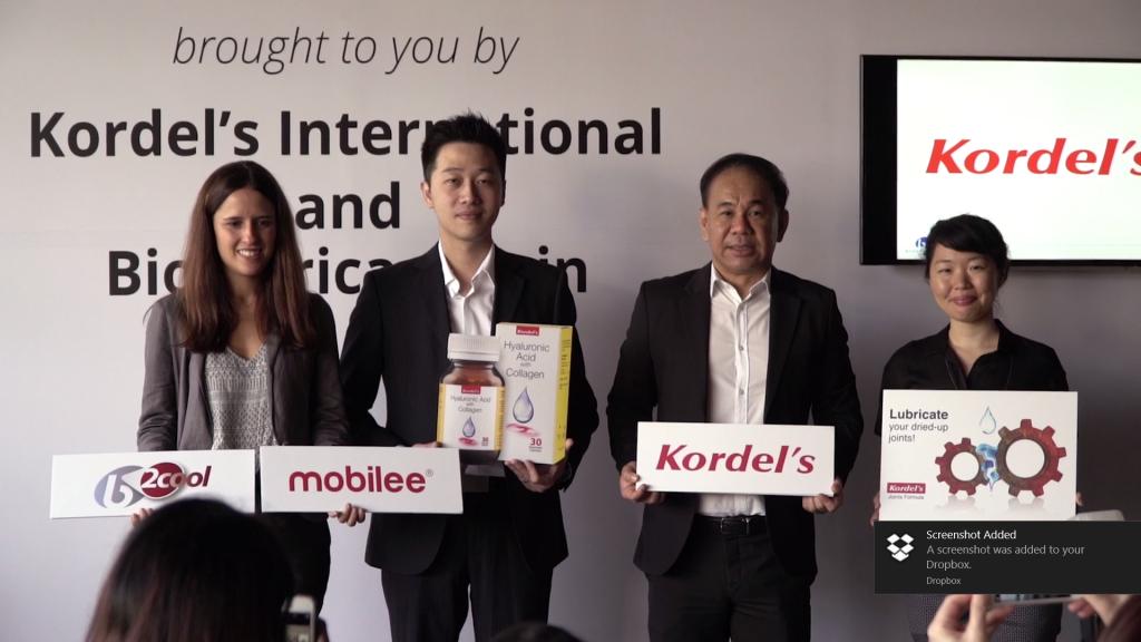 Kordel's Product Media Launch 2016