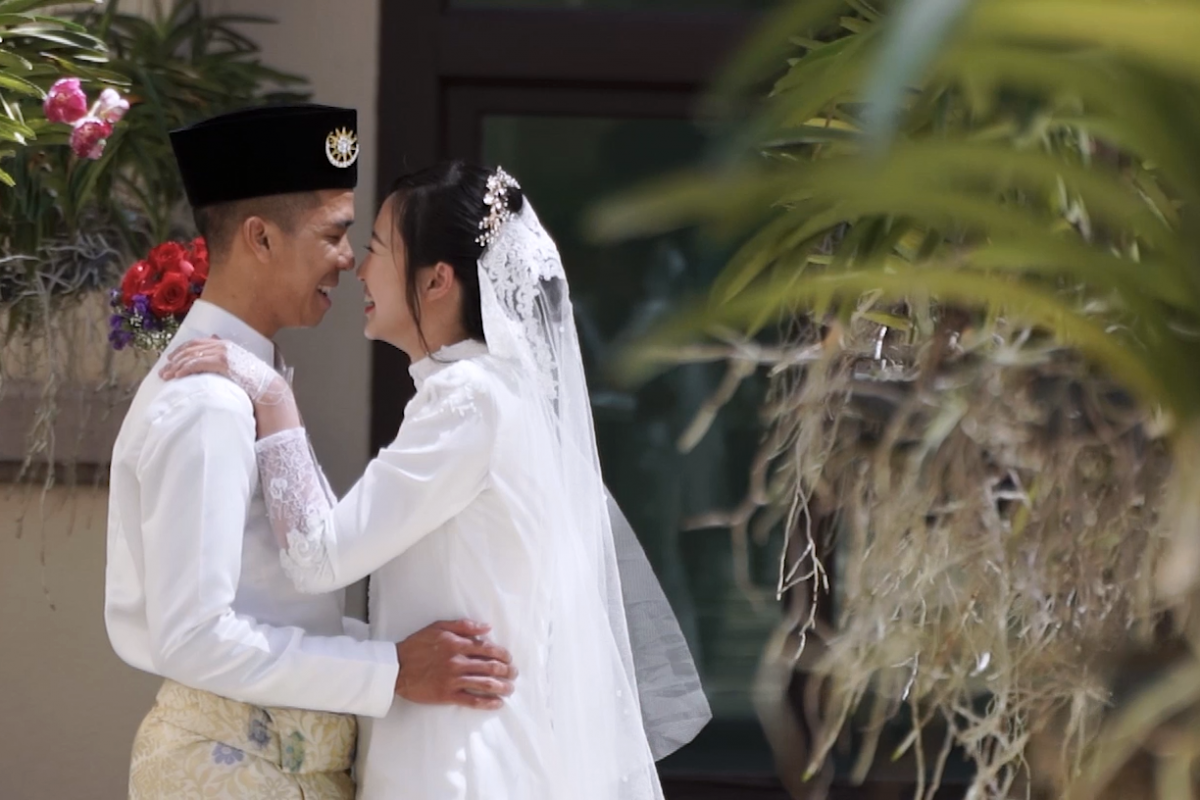 Radin & Shawn (Gate Crashing & Akad Nikah)