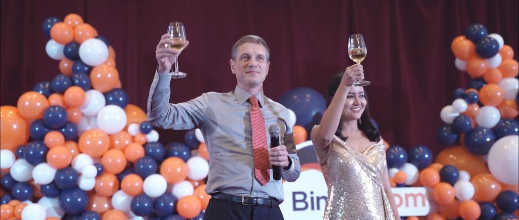 Binary – Annual Dinner 2019